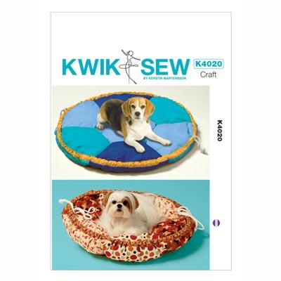 Hundebett, KwikSew 4020