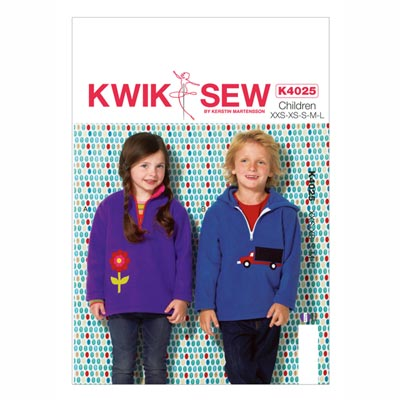Boys | Girls Shirt, KwikSew 4025 | 98 - 140