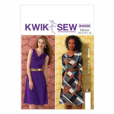 Kleid, KwikSew 4026 | XS–XL