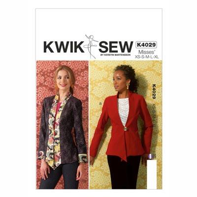 Jacke, KwikSew 4029 | XS–XL