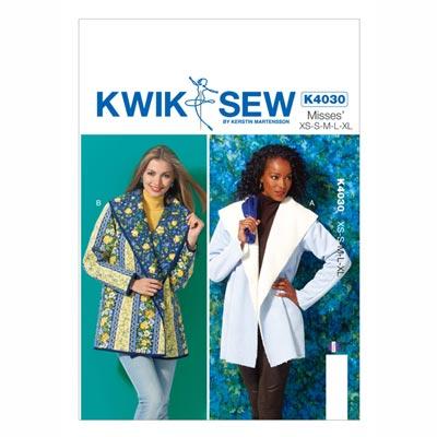 Jacke, KwikSew 4030 | XS–XL