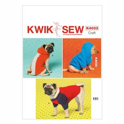 Hundejacke, KwikSew 4033 | XS–XL
