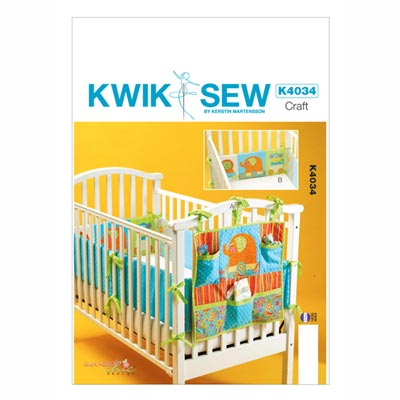 Babybett-Accessoires, KwikSew 4034