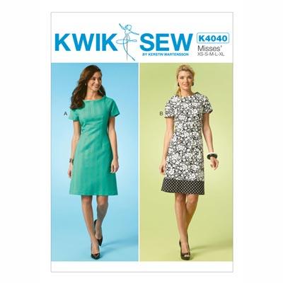 Kleid, KwikSew 4040 | XS - XL
