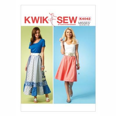 Rock, KwikSew 4042 | XS - XL