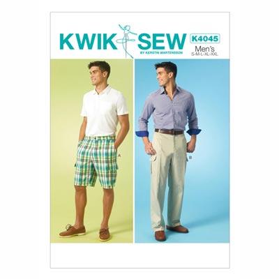 Herrenhose | -short, KwikSew 4045 | S - XXL