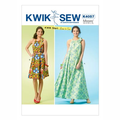 Kleid, KwikSew 4057 | XS - XL