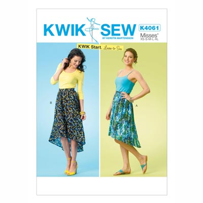 Rock, KwikSew 4061 | XS - XL