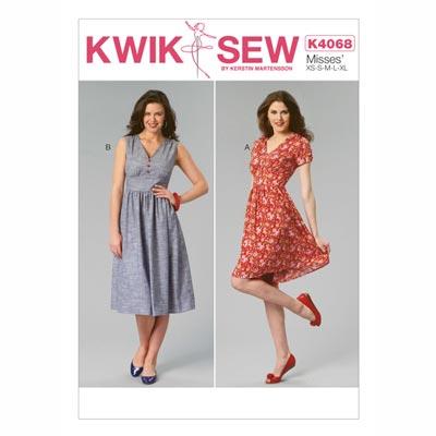 Kleider, KwikSew 4068 | XS - XL