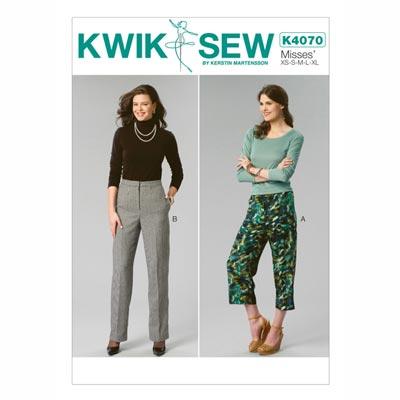 Damenhose, KwikSew 4070 | XS - XL