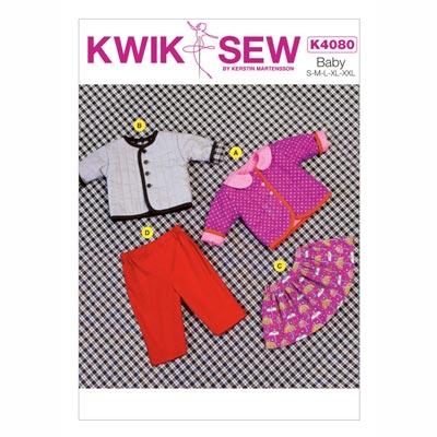 Baby-Jacke | Rock | Hose, KwikSew 4080 | 62 - 92
