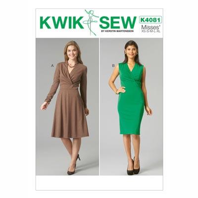 Kleider, KwikSew 4081 | XS - XL