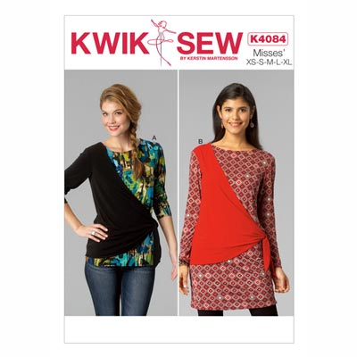 Tops, KwikSew, 4084 | XS - XL