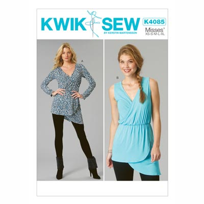 Tops, KwikSew 4085 | XS - XL