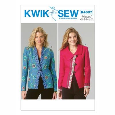 Damenjacken, KwikSew 4087 | XS - XL