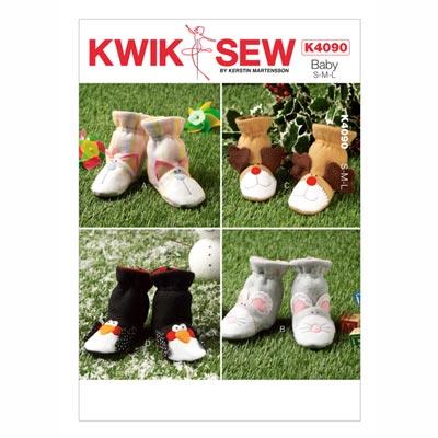 Baby-Schühchen, KwikSew 4090