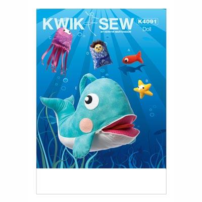 Kuscheltiere, KwikSew 4091