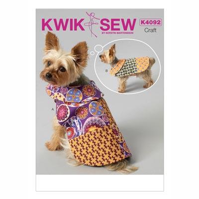 Hundemäntel, KwikSew 4092 | XS - XL