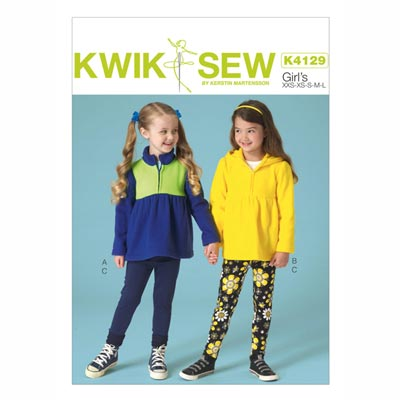 Kindertop | Leggings, KwikSew 4129 | 98 - 140