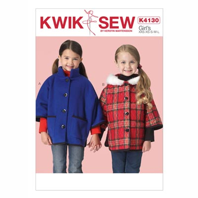 Kinderjacke, KwikSew 4130 | 98 - 140