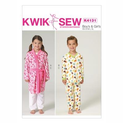 Kinderschlafanzug, KwikSew 4131 | 110 - 152