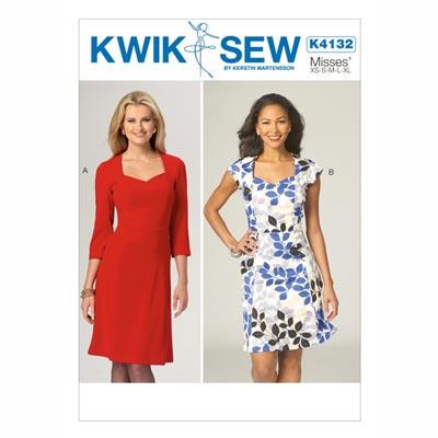 Kleid, KwikSew 4132 | XS - XL