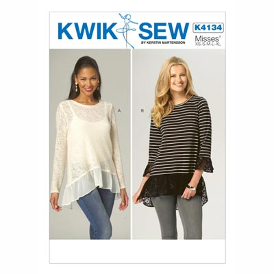 Top, KwikSew 4134 | XS - XL