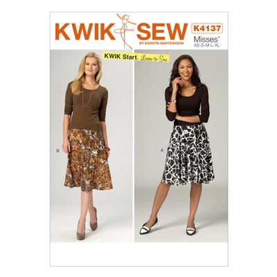 Rock, KwikSew 4137 | XS - XL