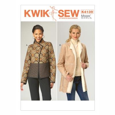 Jacke, KwikSew 4139 | XS - XL