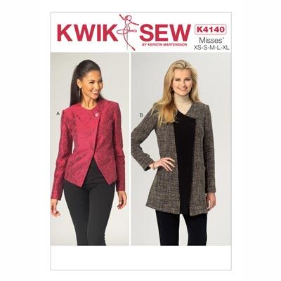 Jacke, KwikSew 4140 | XS - XL
