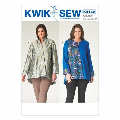 Jacke, KwikSew 4142 | XL - 4XL