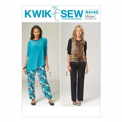 Top | Hose, KwikSew 4143 | XS - XL