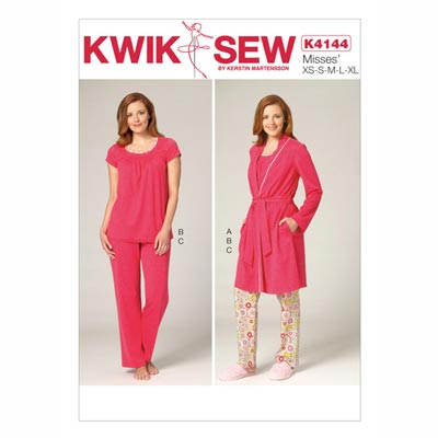 Schlafanzug, KwikSew 4144 | XS - XL