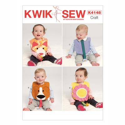 Babylätzchen, KwikSew 4148