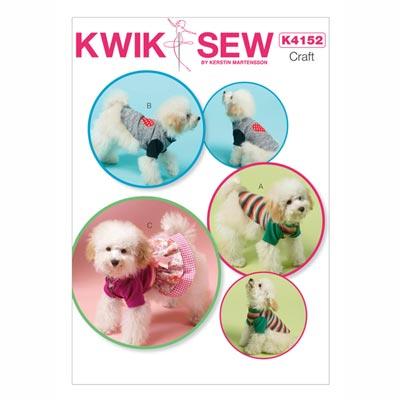 Hundekleid / Mantel, KwikSew 4152