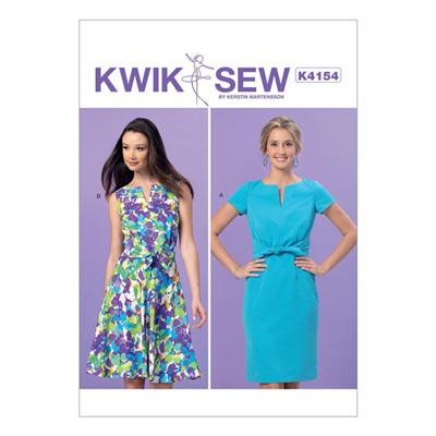 Wickelkleid, KwikSew 4154 | XS–XL