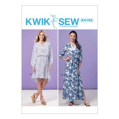 Kleid, KwikSew 4156 | XS–XL