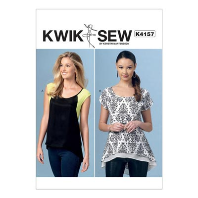 Top, KwikSew 4157 | XS–XL