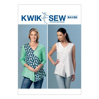 Top, KwikSew 4158 | XS–XL