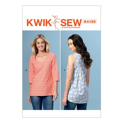 Top, KwikSew 4159 | XS–XL