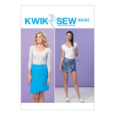Shorts | Rock, KwikSew 4161 | XS–XL