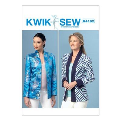 Jacke, KwikSew 4162 | XS–XL