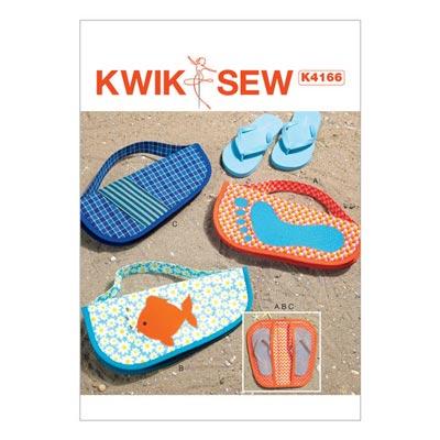 Tasche für Standschuhe, KwikSew 4166