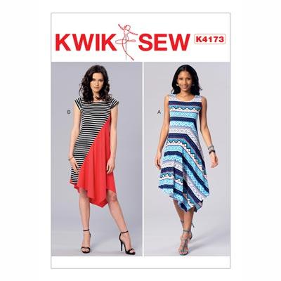 Kleid, KwikSew 4173 | XS - XL