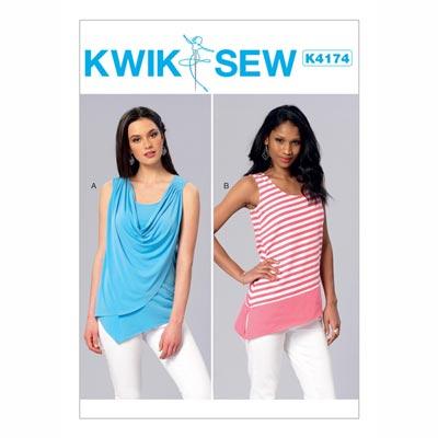 Tops, KwikSew 4174 | XS - XL