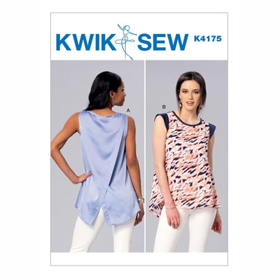 Tops, KwikSew 4175 | XS - XL