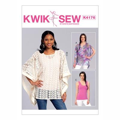 Tops, KwikSew 4176