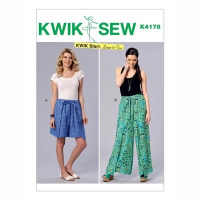Shorts | Hose, KwikSew 4178 | XS - XL