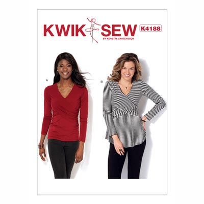Tops, KwikSew 4188 | XS - XL