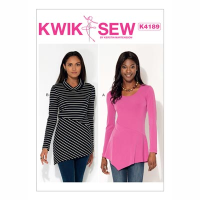 Tops, KwikSew 4189 | XS - XL